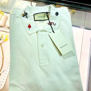 Gucci men 3XL polo with embroidery